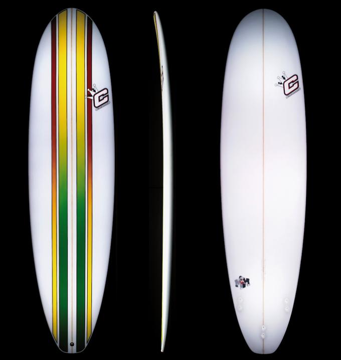 mini malibu die mutter aller funboards clayton surfboards. Black Bedroom Furniture Sets. Home Design Ideas