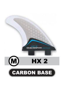 scarfini-kite-board-fins-hx-2-carbon-surfboard-finnen