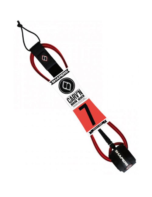shapers-7-ft-carvin-leash-red