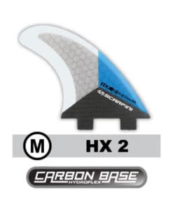 scarfini-carbon-base-fcs-fins-hx-2-medium-surfboard-finnen